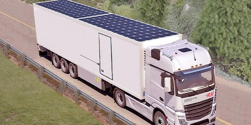 solar powered trailers
